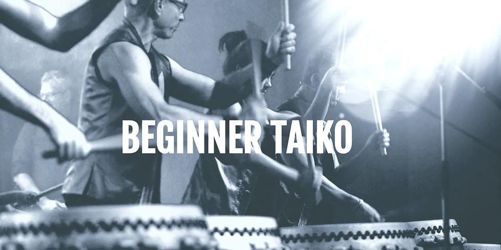 Beginner Taiko - Fridays 19:30
