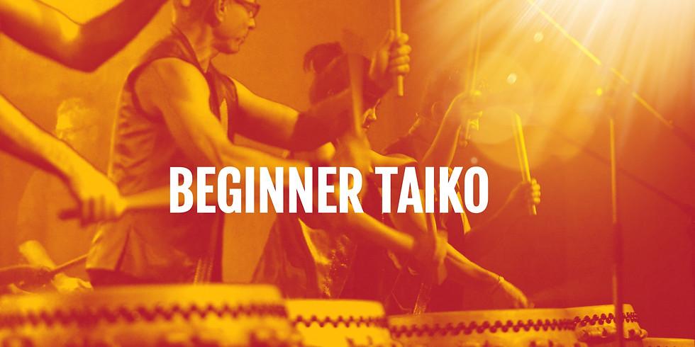 Beginner Taiko - Tuesdays 18:00 (Day 2)