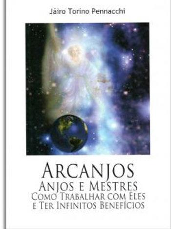 LIVRO Arcanjos, Anjos e Mestres