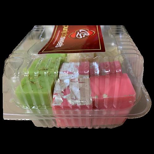 Punjabi Sweet (Pista, Khoya, Rose) - 1 box