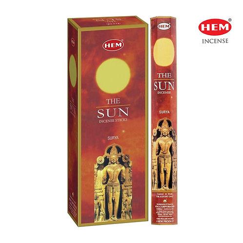 Hem The Sun Incense 6pk/20pc