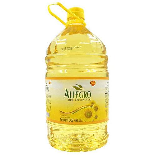 Allegro Sunflower Oil - 5ltr