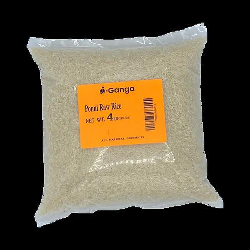 i-Ganga Ponni Raw Rice 4lb