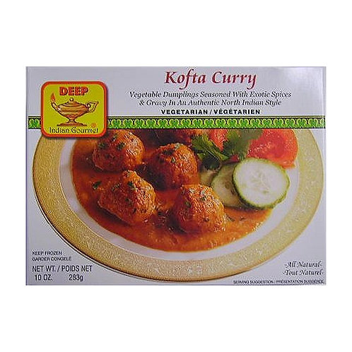 Deep Frozen Kofta Curry-10oz