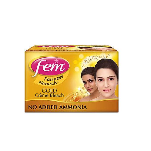 Fem gold bleach Cream - 64gm