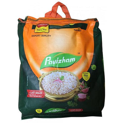 Pavizham Matta Rice Long Grain - 5 kg