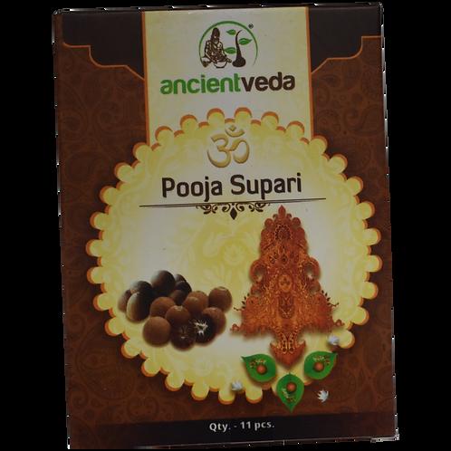 Ancient Veda Black Pooja Supari 11pc