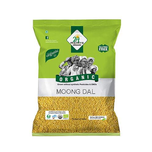 24M Org Moong Dal - 2lb
