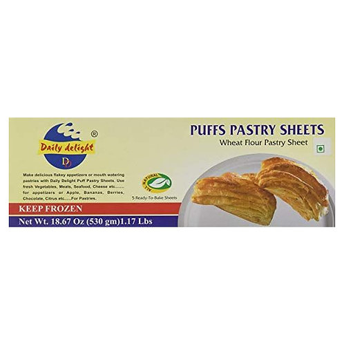 DD Puffs Pastry Sheets