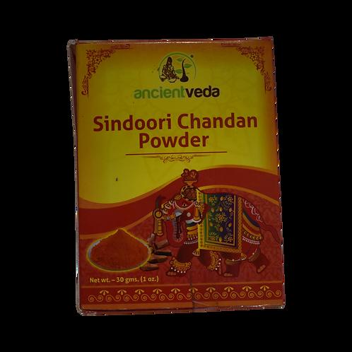Ancient Veda Sindoori Chandan Powder - 1oz