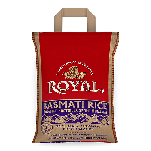 Royal Basmati Rice - 20lb