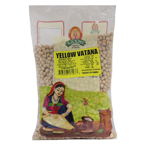 Laxmi Yellow Vatana-4lb