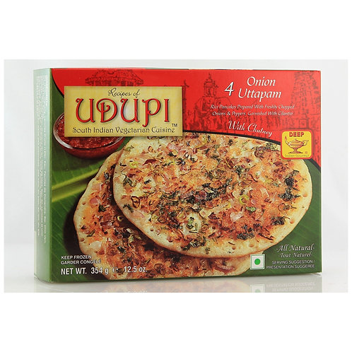 Udupi Onion Uttapam 4pcs