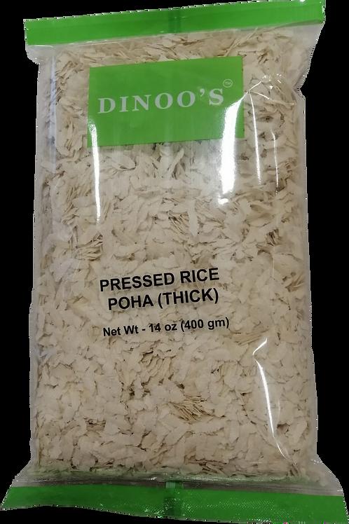 Dinoo's Thick Poha - 14oz/400gm