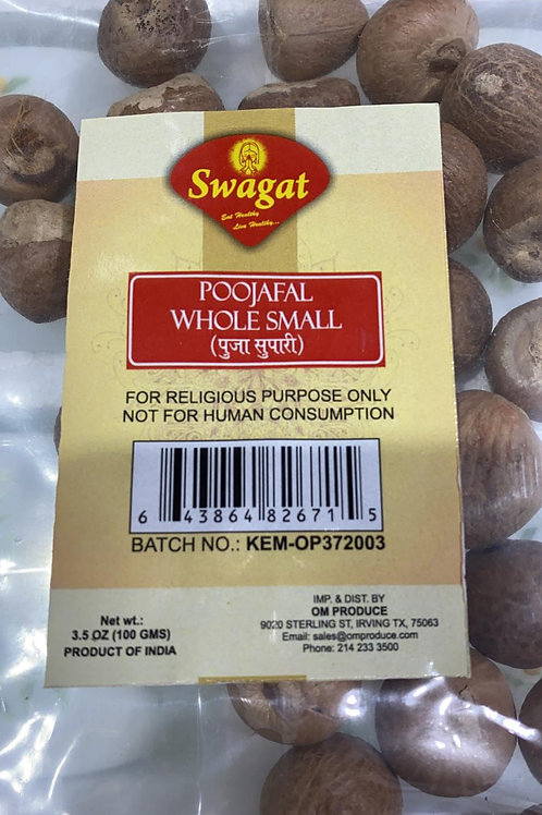 Swagat Poojafal Whole Small - 100 gms