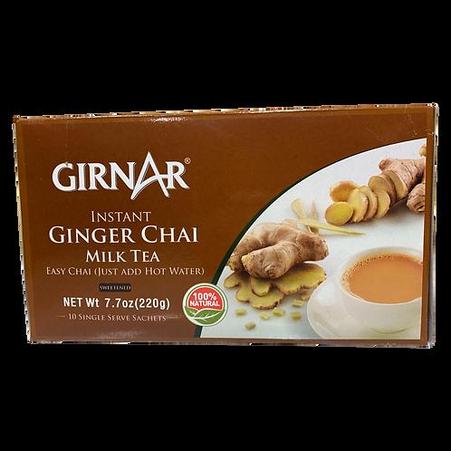 Girnar Instant Ginger Chai Milk Tea - 7.7oz/220g