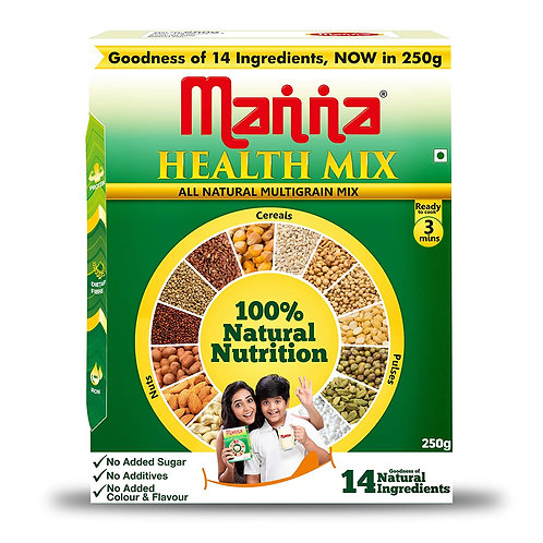 Manna Health Mix - 250gms/8.8oz