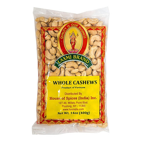 Laxmi Cashew Whole-400g