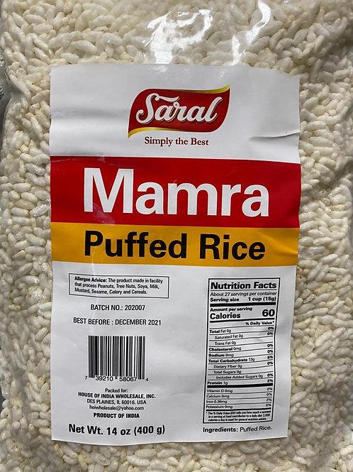 Saral Mamra Puffed Rice - 14oz/400g