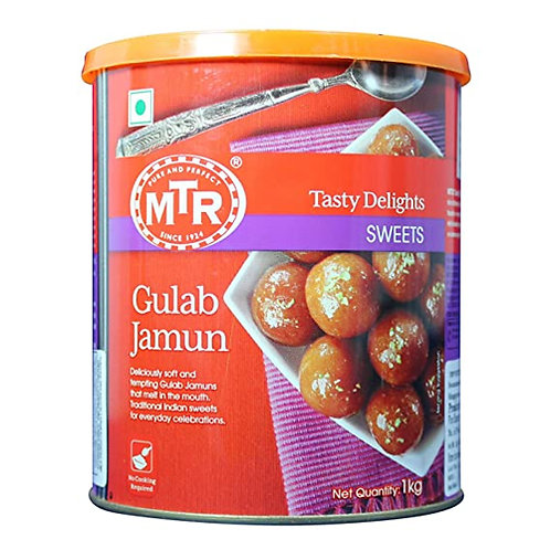 MTR Gulab Jamun Tin-1kg