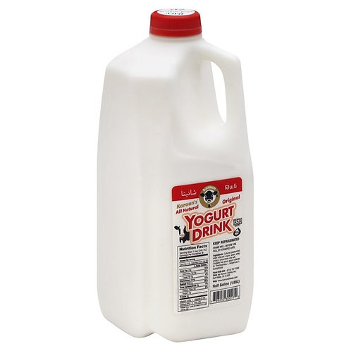 Karoun Yogurt Drink Reg - 0.5 gallon