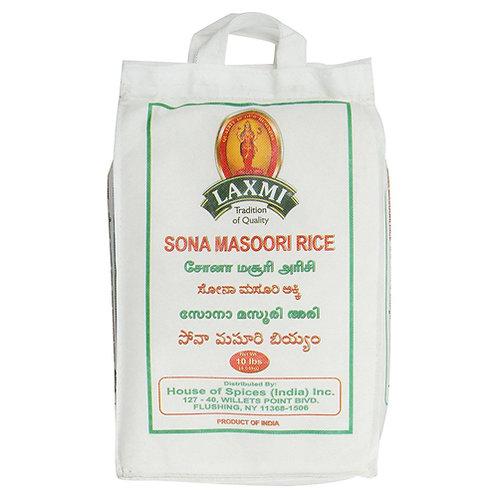 Laxmi Sona Masoori Rice-10LB