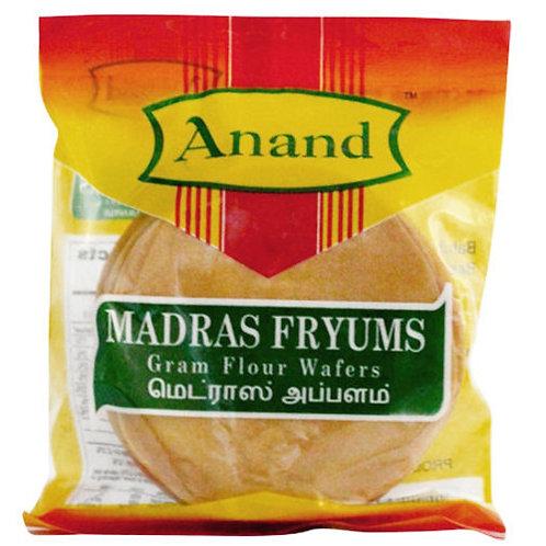 Anand Madras Fryums/Appalam - 200gm
