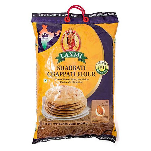 Laxmi Sharbati Multigrain Chapati Flour 20lb