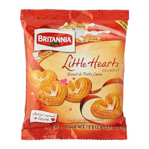 Britannia Little Hearts 75g