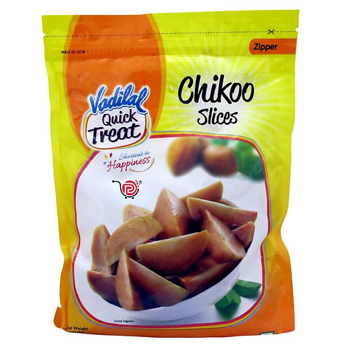 Vadilal Chikoo Slices - 312gm/11oz