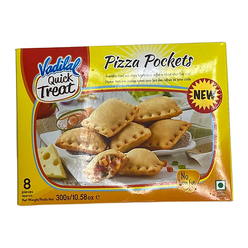 Vadilal Pizza Pockets - 300gm/10.5oz