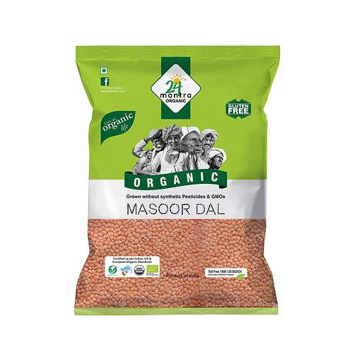 24M Org Masoor Dal - 2lb