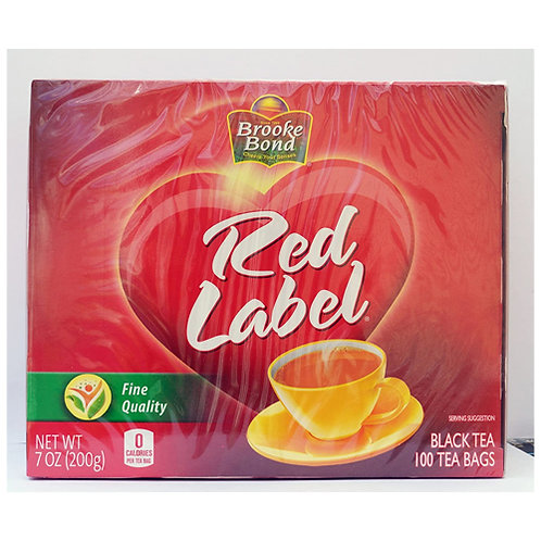 Brook Bond Red Label Tea Bags-100c/200g