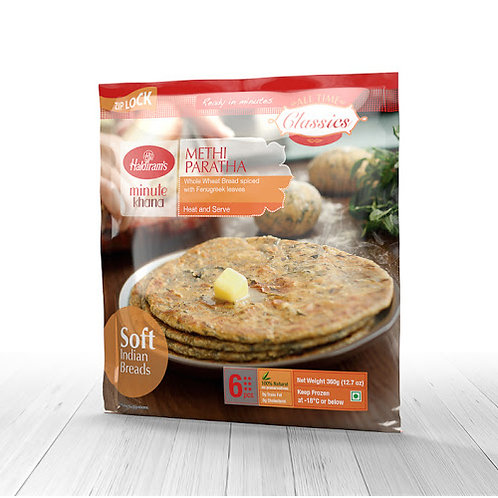 HR Methi Paratha 360g