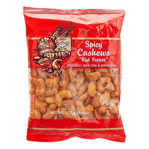 Deep Spicy Cashews(Pepper)8 oz