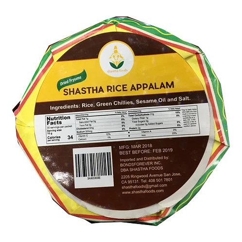Shastha Rice appalam 325gm