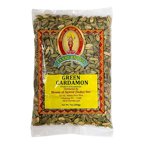 Laxmi Green Cardamon (small) - 200gr/7oz
