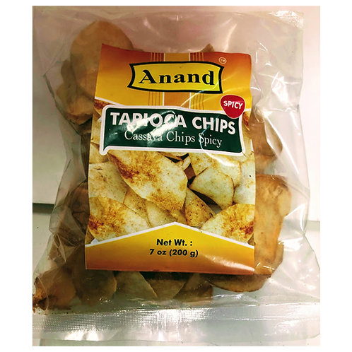 Anand Tapioca Chips spicy-200g