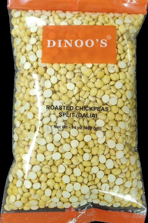 Dinoo's Roasted Chickpeas Split (Dalia) - 400gms