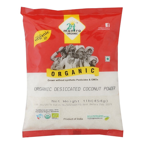 24M Org Coconut powder 1lb