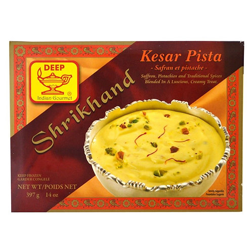 Deep Shrikhand Kesar Pista-14oz