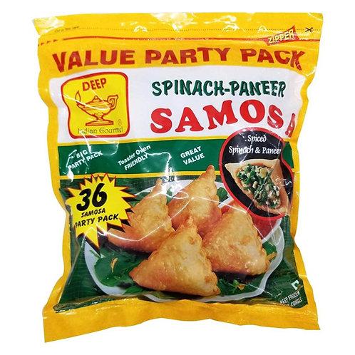 Deep Frozen Spinach Paneer Samosa-36