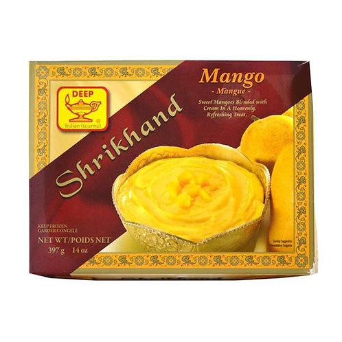 Deep Shrikhand Mango -14oz