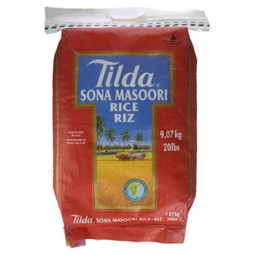 Tilda Sona Masoori Rice-20lb