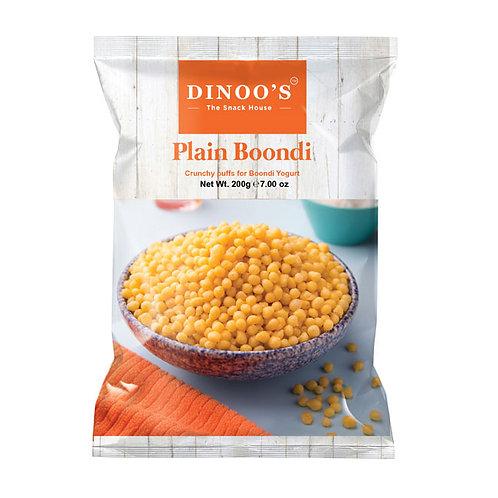 Dinoo Plain Boondi - 7oz/200gm