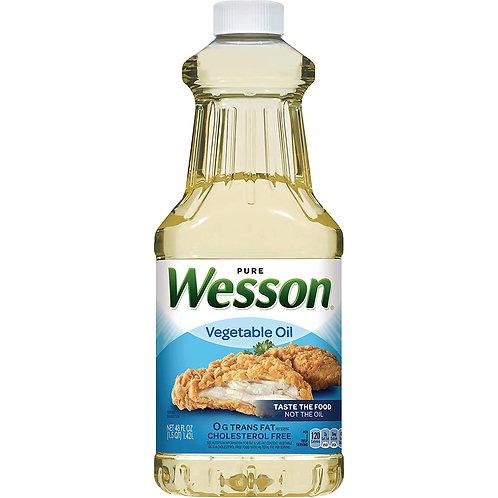 Wesson Vegetable oil - 1.5 qt (48 Fl Oz)