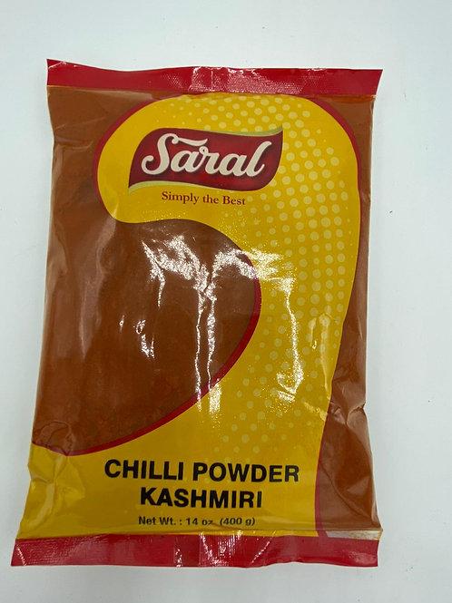 Saral Kashmiri Red Chilli Powder - 14oz