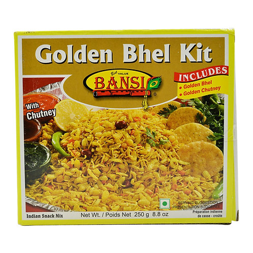 Bansi Golden Bhel Kit 250g