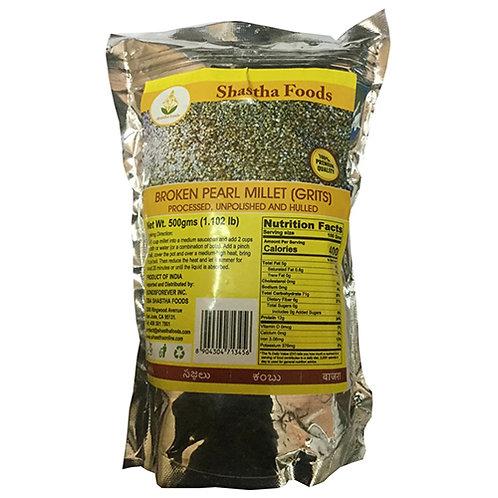 Shastha Broken Pearl Millet - 500gms