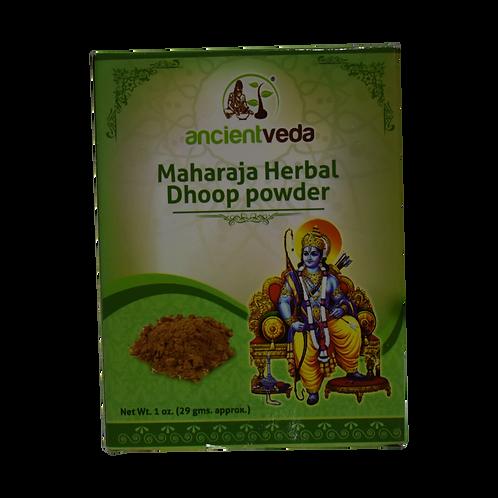 Ancient Veda Maharaja Herbal Dhoop Powder - 1oz